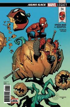 SPIDER-MAN DEADPOOL #24 LEG