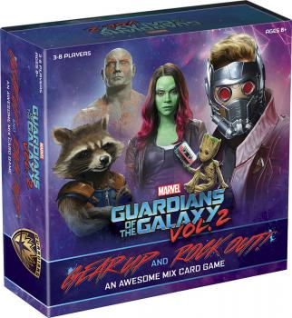 Guardians of the Galaxy Volume 02 Gear Up and Rock Out An Awesome Mix Card Game