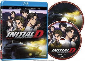 Initial D Legend 01 Awakening Blu-Ray/DVD