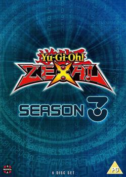 Yu-Gi-Oh Zexal Season 03 DVD UK