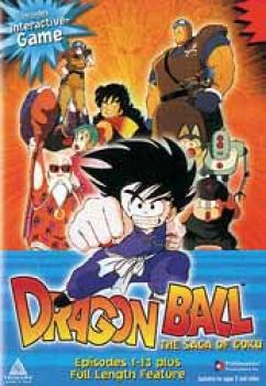 Dragonball Saga of Goku DVD Dubbed