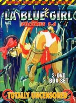 La blue girl vol 1-6 Box set DVD