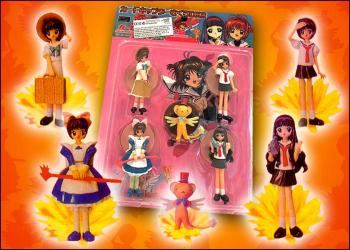 Cardcaptor Sakura 5 Piece  PVC Set