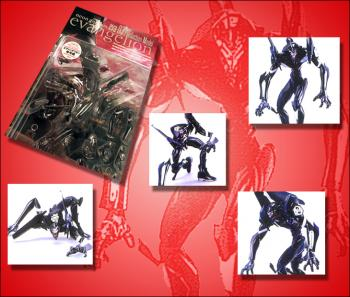 Neon genesis evangelion EVA unit 03 Black figure