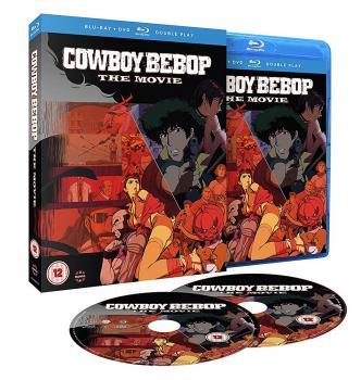 Cowboy Bebop The Movie Blu-Ray/DVD Combo UK