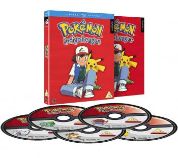 Pokemon Indigo League Season 01 Blu-Ray UK