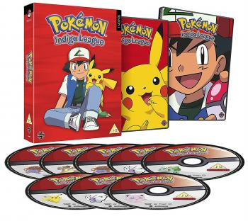 Pokemon Indigo League Season 01 DVD UK