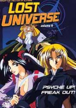 Lost universe vol 4 DVD