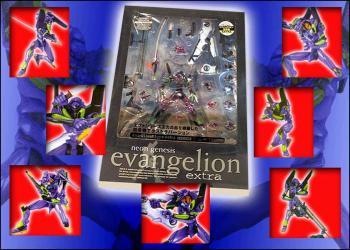 Neon genesis evangelion EVA unit 01 EX metallic figure