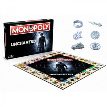 Monopoly Board Game - Uncharted