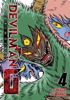 Devilman Grimoire vol 04 GN Manga