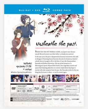 Touken Ranbu Hanamaru Season 01 Blu-Ray/DVD