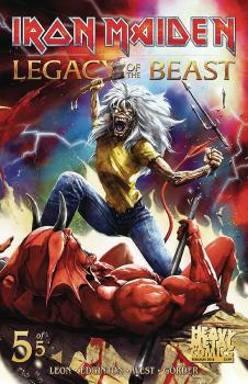 IRON MAIDEN LEGACY OF THE BEAST #5 (OF 5) CVR A CASAS (MR)