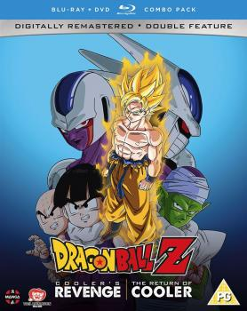 Dragon Ball Z Movie Collection 03 Cooler's Revenge - Return of Cooler DVD/Blu-Ray Combo UK