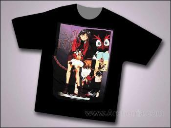 Neon genesis evangelion Penguin care T-shirt XL