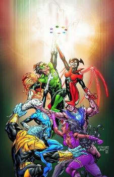 GREEN LANTERN NEW GUARDIANS HARDCOVER VALUE PACK
