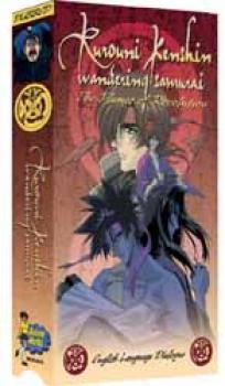 Rurouni Kenshin vol 6 Flames of revolution Dubbed NTSC