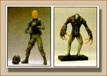 Resident evil 3 Hunk vs super Tyrant figure 2-pack