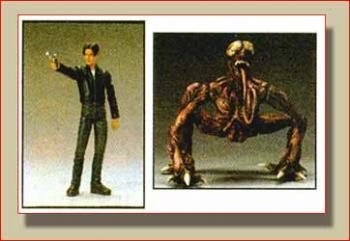 Resident evil 3 Leon vs Licker figure 2-pack