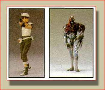 Resident evil 3 Rebecca vs Tyrant figure 2-pack