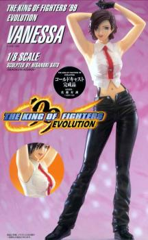 King of fighters Vanessa resin statue