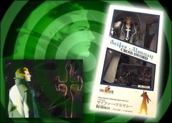 Final Fantasy VIII Vinyl figure Seifer Almasy 1/6