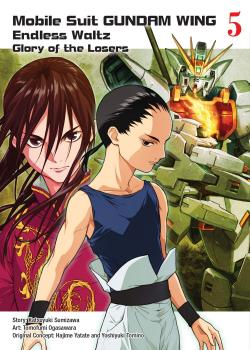 Gundam Wing vol 05 The Glory of Losers GN Manga