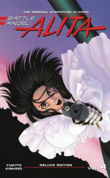 Battle Angel Alita Deluxe Edition vol 04 GN Manga