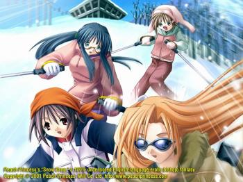 Bishoujou hentai game - Snow drop