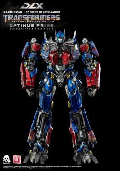 Transformers Revenge of the Fallen Action Figure - DLX Optimus Prime 1/6