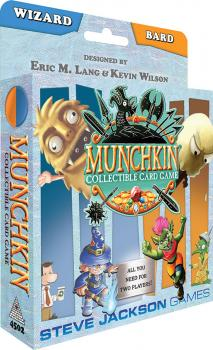 Munchkin Collectible Card Game Starter Deck Wizard/Bard
