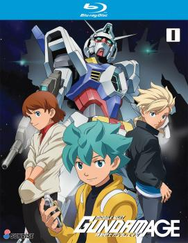 Mobile Suit Gundam AGE Collection 01 Blu-Ray