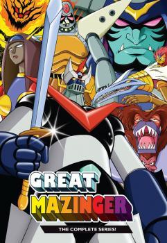 Great Mazinger DVD