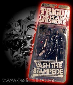 Trigun Vash the stampede Limited edition Black figure
