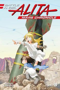 Battle Angel Alita Mars Chronicle vol 03 GN Manga