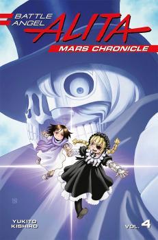 Battle Angel Alita Mars Chronicle vol 04 GN Manga