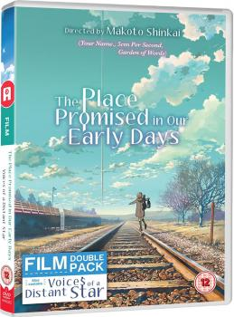Place promised/Voices of a distant star Shinkai Twin Pack DVD UK