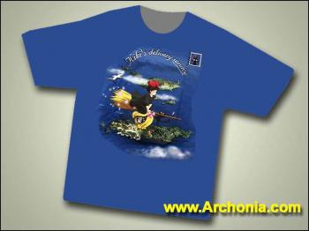 Kikis delivery service New brush T-shirt L