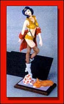 Cowboy Bebop Faye Valentine resin model kit