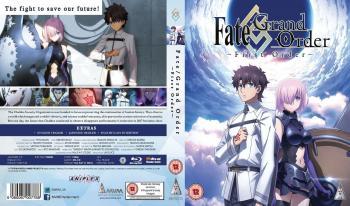 Fate Grand Order First Order Blu-Ray UK