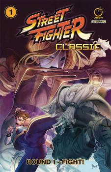 Street Fighter Classics vol 01 Round 1 Fight GN Manga