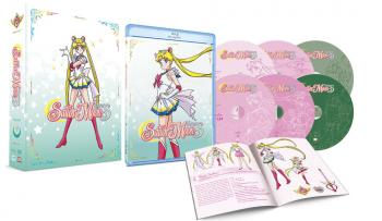 Sailor Moon Super S Part 01 Limited Edition Blu-Ray/DVD