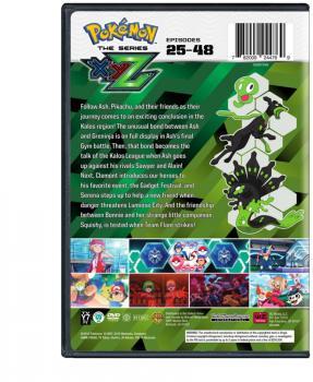Pokemon XYZ Set 02 DVD
