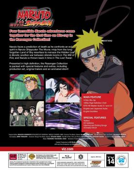 Naruto Shippuden The Movie Rasengan Collection Blu-Ray