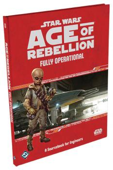 Star Wars Age of Rebellion RPG - Fully Operational Hardcover