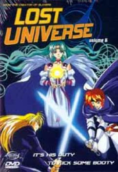 Lost universe vol 6 DVD