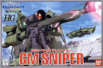 Gundam Sniper RGM-79 1/144 model kit
