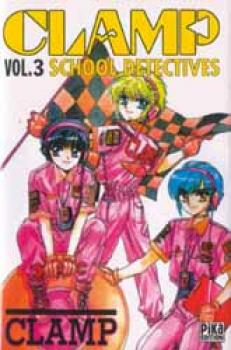 Clamp Detective School tome 3