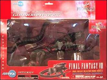 Final Fantasy 8 Guardian force series 1 Cerberus action figure