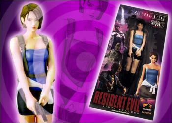 Resident evil 3 Jill Valentine vinyl statue